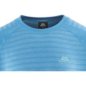 Mountain Equipment M's Redline LS Tee Alto Blue Stripe